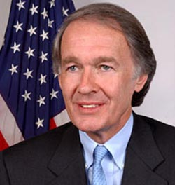 Rep. Edward Markey, D-MA. (photo: The Political Guide)