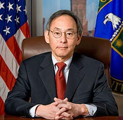 Former Secretary of Energy Steven Chu. (photo: Department of Energy)