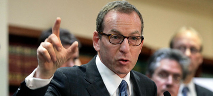 Lanny A. Breuer, the head of the Justice Department's criminal division. (photo: Richard Drew/Associated Press)