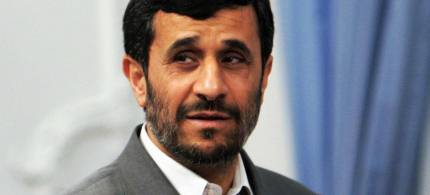 Iran's President Mahmoud Ahmadinejad. (photo: unknown)