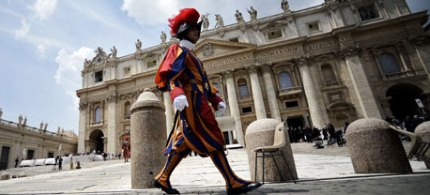 The Vatican is awhirl with rumours about the pope's decision to retire. (photo: Filippo Monteforte/AFP/Getty Images)