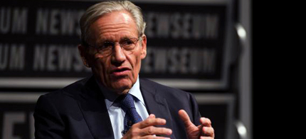 Associate Editor of the Washington Post Bob Woodward speaks at the Newseum during an event marking the 40th anniversary of Watergate at the Newseum in Washington, DC June 13, 2012. (photo: Jim Watson/AFP/GettyImages)