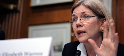 Senator Elizabeth Warren. (photo: Steve Pope/Getty Images)