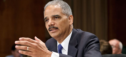 US Attorney-General Eric Holder. (photo: J. Scott Applewhite/AP)