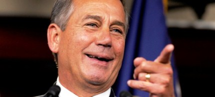 Speaker of the House John Boehner. (photo: Susan Walsh/AP)