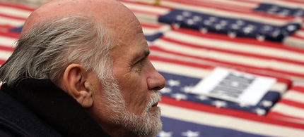 Vietnam Veteran and peace activist, Ron Kovic. (photo: BBC)