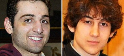 Tamerlan Tsarnaev, left, and Dzhokhar Tsarnaev. (photo: AP)