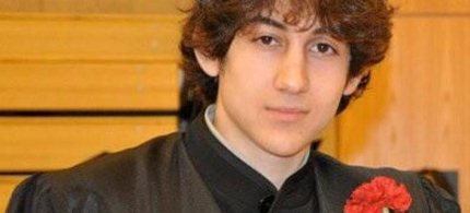 Dzhokhar Tsarnaev at his high school graduation ceremony.  (photo: Robin Young/Twitter)