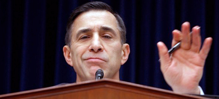 House Oversight And Government Reform Committee Chairman Darrell Issa is striking out on Benghazi (photo: Chip Somodevilla/Getty Images)
