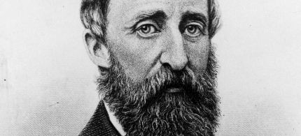Henry David Thoreau. (illustration: unknown)