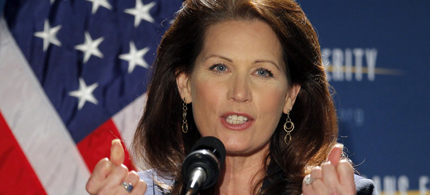Michelle Bachman will be leaving Congress in 2015. (photo: Douglas Graham/CQ Roll Call)