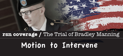 Bradley Manning Graphic (illustration: Marc Ash/RSN)