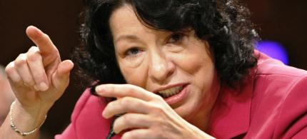 Supreme Court Justice Sonia Sotomayor. (photo: Scott Applewhite/AP)