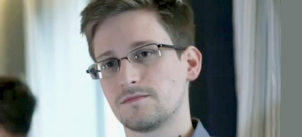 Edward Snowden, the whistleblower who leaked top secret documents revealing a vast surveillance program by the US government to the Guardian newspaper. (photo: Guardian UK)