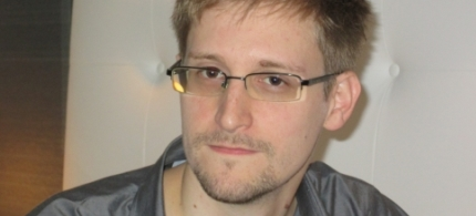 Edward Snowden speaking to the South China Morning Post. (photo: South China Morning Post)