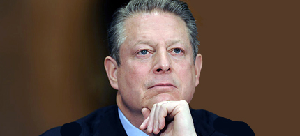 Al Gore testifies on Capitol Hill before the Senate Foreign Relations Committee hearing on global climate change. (photo: Susan Walsh/AP)