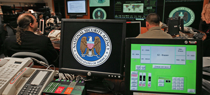 NSA employees in monitoring center. (photo: NSA)