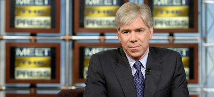 David Gregory's attack on Glenn Greenwald is an example of how the media is acting as a government propaganda machine against Eric Snowden. (photo: Alex Wong/Getty Images)