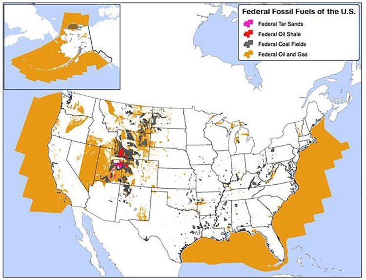 Federal fossil fuels of the U.S. (photo: Curt Bradley/Center for Biological Diversity)