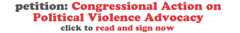 Petition: Congressional Action on Political Violence Advocacy