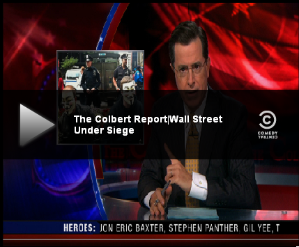 Colbert Report | Wall Street Under Siege