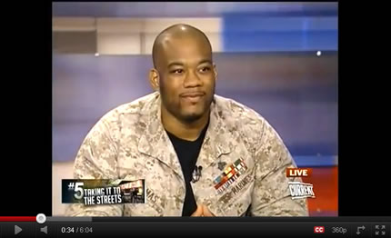 1Sgt Shamar Thomas on Countdown w/ Keith Olbermann