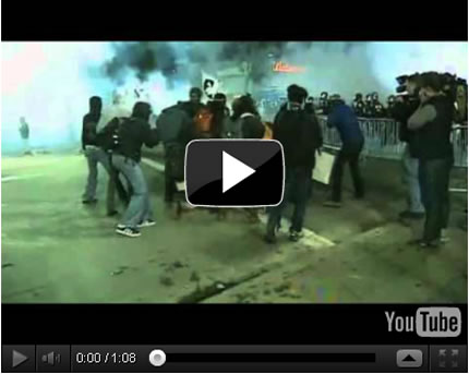 Occupy Oakland - Iraq Veteran Shot in Head With Teargas Canister